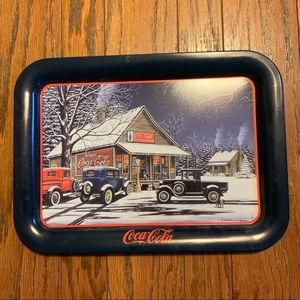 Coca-Cola The Gathering Place metal serving